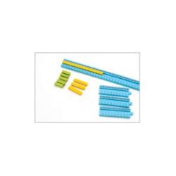 Getallenspoor voor staafjes 1-100 cm